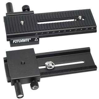Fotomate LP-01 2 way Macro Focusing Rail Slider