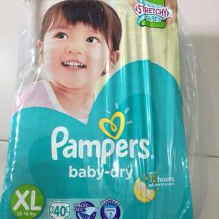 Pamper Diaper Size XL