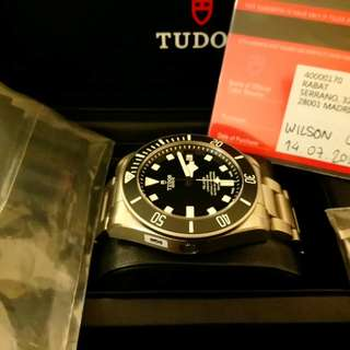 Tudor Pelagos 25600TN 99% New (2017 年錶)