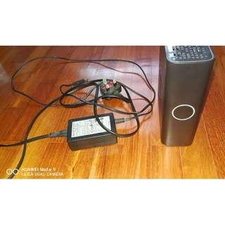 Western Digital WD 250GB External HDD with power supply