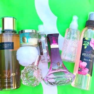 perfume + candle bundle!