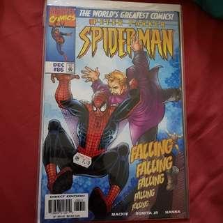 Lot 8 : Peter Parker Spiderman Comics (3 books)