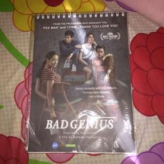Note Merchandise Film Bad Genius dan One Day