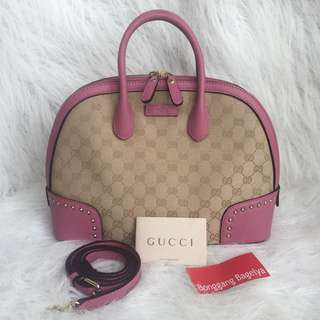 Gucci Dome Top Handle Bag