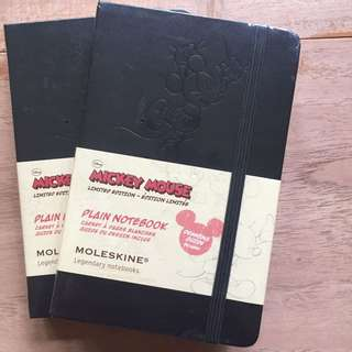 Moleskin Mickey Mouse Edition Small x 2