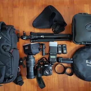 Nikon D7000/DSLR Cam set
