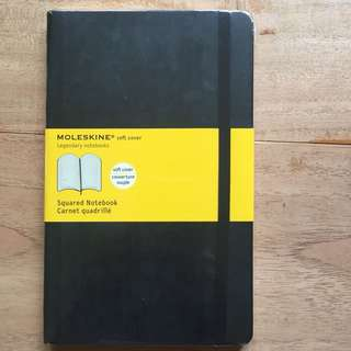 Moleskin Squared Notebook Large