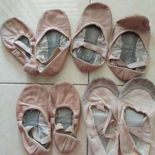 Ballet Shoes Leather Girl Dancing Balet Shoes