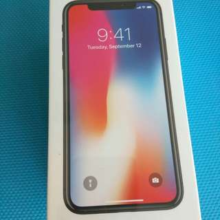 Iphone X 256G Black