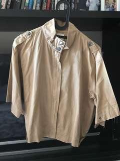 Brown light jacket