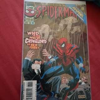 Lot 11 : Misc Spiderman comics (5 books)