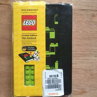 Moleskin Lego Limited Edition