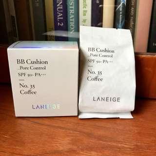 Cheap! Laneige BB Cushion Refill No 35 Coffee