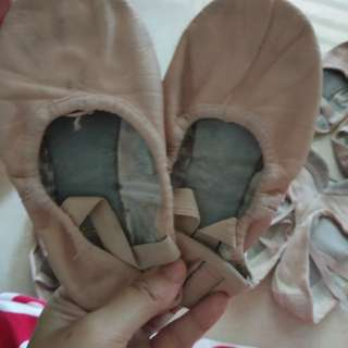 Leather Material Ballet Dance Shoes