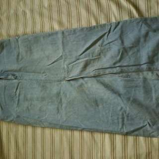Denim skirt authentic company b