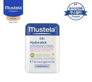Mustela hydra-stick with Cold cream