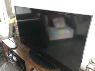"Samsung 46"" Flat-screen TV"