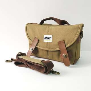Nikon Professional Camera Bag with compartments