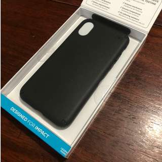 Authentic Speck Presidio Case for the iPhone X (Black)