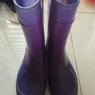 Rain Boots Purple for Girls