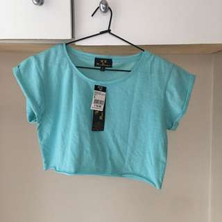 ICE Rolled Sleeve Crop