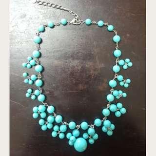 **春夏100%NEW 出口美國玻璃珠頸鍊。