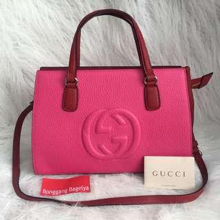 Gucci Soho Top Handle Bag