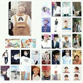 TAEHYUNG BTS Lomo Card