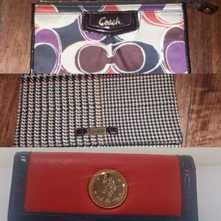 Coach US Polo Ralph Lauren Wristlet wallet
