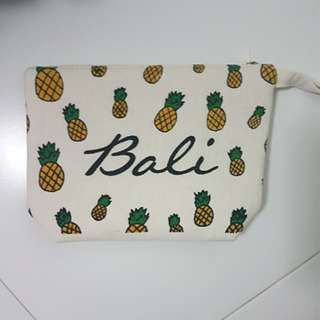 MOVING OUT SALE Bali Pineapple Pouch