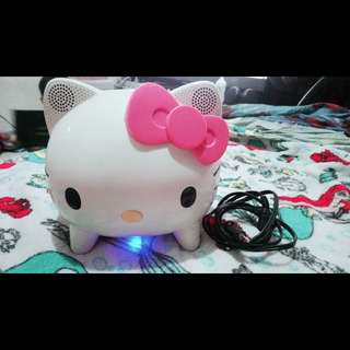 Hello Kitty Speaker 🙀 ♥ Home Audio and Theater