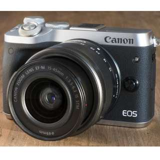 Kredit Dp 10% Canon EOS M6 Mirrorless Digital Camera with 15-45mm Lens - Cicilan tanpa kartu kredit