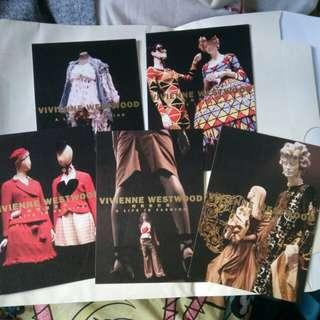 Westwood 2009年時裝設計展 postcard 明信片