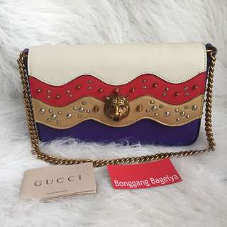 Gucci Studded Party Bag