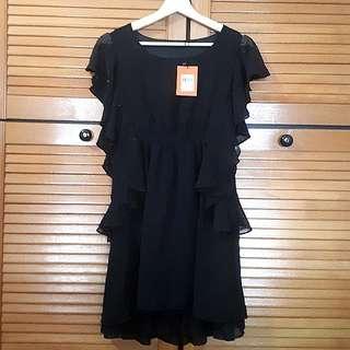 Nichii chiffom flutter dress (BNWT)