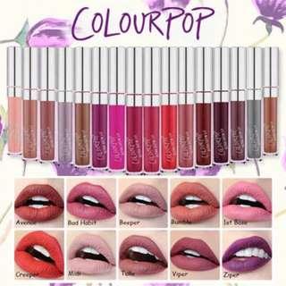 {INSTOCK} Colourpop Ultra Matte Lip