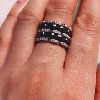 Chanel Diamond Ultra Ring SZ:53