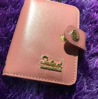Salad全新粉色卡片包 card holder