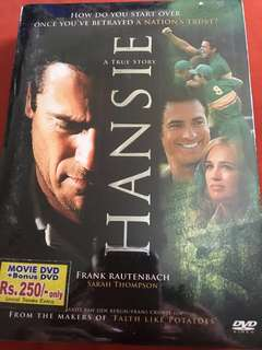 Movie DVD - Hansie