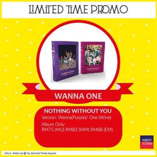 (PROMO UNTIL 18/2) WANNA ONE - NOTHING WITHOUT YOU
