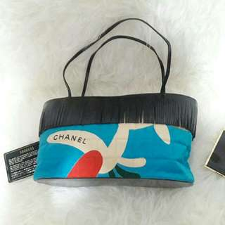 Authentic Chanel Rumbai Rp4.9jt nett Pigeon#5 Clutch Limited Edition- Too Cute👒❤