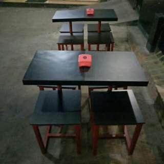 Meja kursi untuk usaha