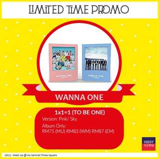 (PROMO UNTIL 18/2) WANNA ONE - TO BE ONE