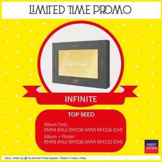 (PROMO UNTIL 18/2) INFINITE - TOP SEED