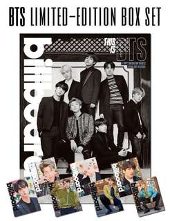 BTS LIMITED EDITION MAGAZINE & POSTER