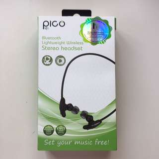 Pico Life Bluetooth Lightweight Wireless Stereo Headset