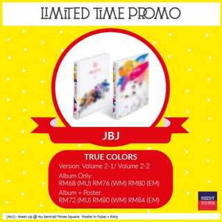 (PROMO UNTIL 18/2) JBJ - TRUE COLORS