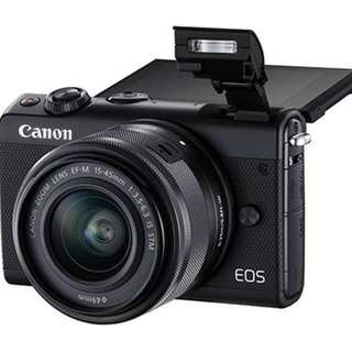 Kredit Canon EOS M100 Mirrorless Digital Camera with 15-45mm Lens - Cicilan tanpa kartu kredit