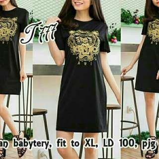 Dress kenzo black TERMURAH