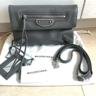 巴黎世家Balenciaga Classic Silver Mini(斜背)